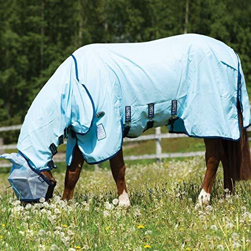 Horseware Rambo Sweetitch Hoody Vamoose Ekzemerdecke mit Gesichtsmaske Fliegendecke 145