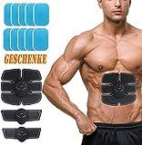 Endureal Muskeltrainer Elektrisch, Elektrostimulation Muskeltrainer Muskel Training Gewicht Verlust 10 Stück EMS Gummimatte Stimulierende Pads