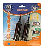 3D Maker – 3D Freestyler – Recharge 2 Tubes – Orange & Bleu