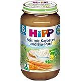 Hipp Reis mit Karotten und Bio-Pute, 6er Pack (6 x 220g)