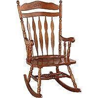 كرسي هزاز كلوريس 59209 من اكمى- الجوز الداكن