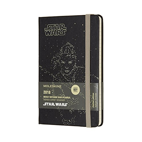 2018 Moleskine Star Wars Limited Edition Rey Pocket Weekly Notebook Diary 12 Months Hard