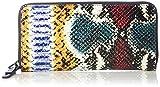 Liebeskind Berlin Damen Sallys7 Snake Geldbörse, Mehrfarbig (Multi Colored Snake), 19x10x2.5 cm