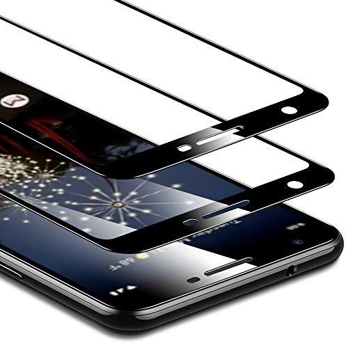 ESR Displayschutzfolie kompatibel mit Google Pixel 3a XL Schutzfolie - Panzerglas Schutzfolie mit Full-Screen Abdeckung [2er Pack] - HD Hartglas Folie für Google Pixel 3a XL (2019)