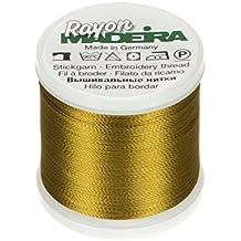 Tacony Oro Green-Madeira rayón Hilo