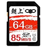 Scheda di Memoria della Fotocamera SD Card Scheda di Memoria del registratore di Guida ad Alta velocità Micro Single Car Load 85M / s 16 GB, 32 GB, 64 GB, 128 GB (Dimensioni : 64GB)