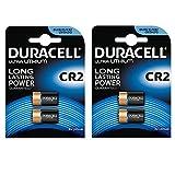 Duracell Ultra Photo Lot de 2 piles Lithium 3 V Lot de 2