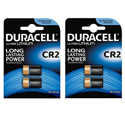 2x Duracell Ultra Photo DLCR23V Lithium Batterie, 2Stück Duracell 3v Lithium Photo Batterie