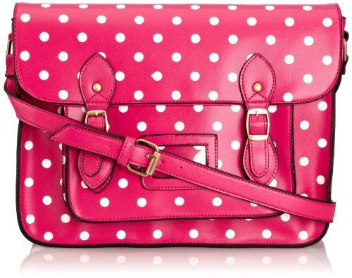 SwankySwansSara - Borsa a tracolla da ragazza' Pink
