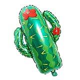 BESTOYARD Kaktus Folienballon, Helium Mylar Ballon für Kinder Geburtstag Party Dekor
