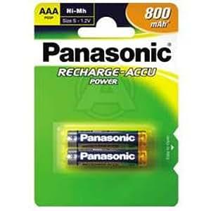 Batterie, batterie rechargeable, NiMh, Micro, Panasonic