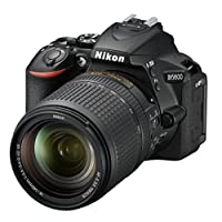 Nikon D5600 AF-S 18-140mm 3.5-5.6G ED VR Lens Kit - 24.2 MP DSLR Camera Black