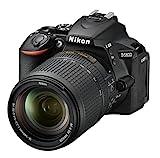 Nikon D5600 - Cámara réflex de 24.2 MP (pantalla táctil de 3', Full HD) negro - kit con objetivo AF-S DX 18 - 140 mm VR, versión europea