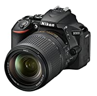 "Nikon D5600 - Cámara réflex de 24.2 MP (pantalla táctil de 3"", Full HD) ..."