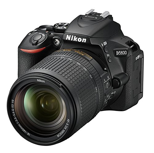 Nikon D5600 DX-format Digital SLR w/ AF-S DX NIKKOR 18-140mm f/3. 5-5. 6G ED VR (Black)