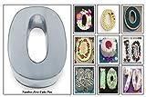EURO TINS molde para tarta de cumpleaños de número pequeño CERO 0 (tamaño 25 x 18 cm - 5,5 cm de profundidad)