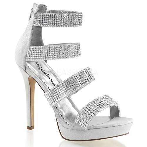 Lumina fabulicious 30 r high heels femme-strass argenté/35–41 Slv Reflective Fabric