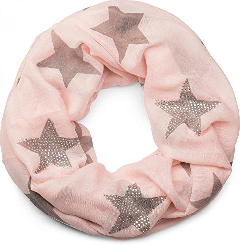 stylebreaker-sciarpa-scaldacollo-con-disegni-a-stella-e-unelegate-applicazione-di-strass-donna-01018