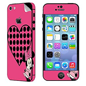 Theskinmantra Minnie Love Apple iPhone 5S mobile skin