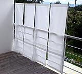 ParaVue 3.4 Balkonsichtschutz, werkzeugfrei, 1,50 m hoch