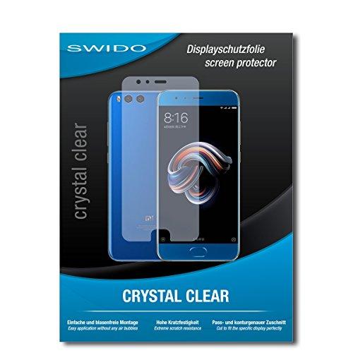 Galleria fotografica 2 x SWIDO® Pellicola Protettiva Xiaomi Mi Note 3 Screen Protector Pellicola Protettiva Film CrystalClear invisibile
