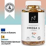 Omega 3 + Vitamina E. Alta dosis de ácidos grasos Omega 3 en...