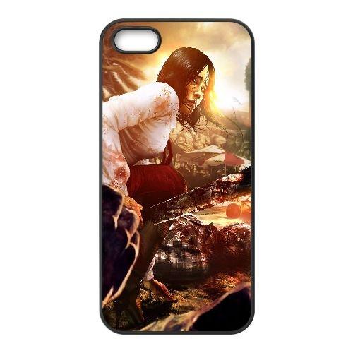 Dead Island coque iPhone 4 4S Housse téléphone Noir de couverture de cas coque EBDXJKNBO13074
