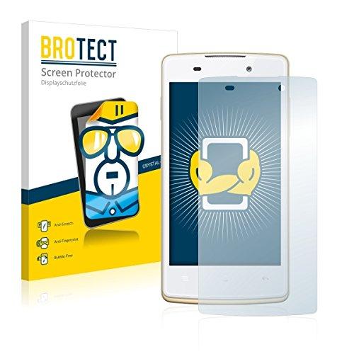2X BROTECT HD Clear Bildschirmschutz Schutzfolie für Oppo Joy Plus (kristallklar, extrem Kratzfest, schmutzabweisend)