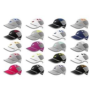 footSprint Super leichte Lauf-Mütze Running-Cap Trail-Kappe für Herren Damen tolle Farben für Sport, Freizeit, feinste Funktionsfasern atmungsaktiv hoch elastisch [Sport & Freizeit Bekleidung]