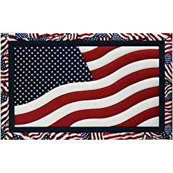 Quilt Magic 12 X 19-inch American Flag Kit
