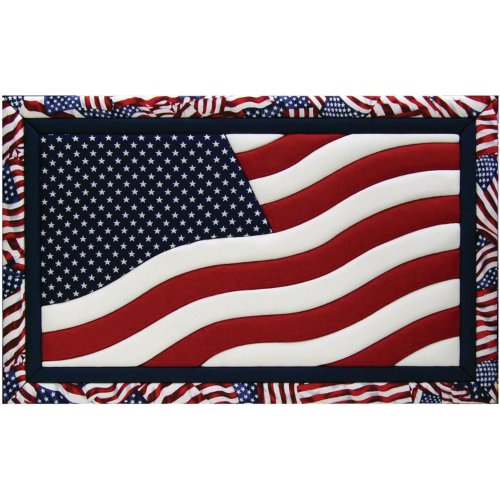 Quilt Magic 12 x 19 American Flag Kit (Quilt-magic-kits)