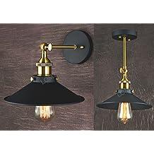 Lampada piegabile in metallo con applique a