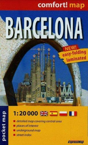 Barcelona r/v (r) wp mini (City Plan Pockets)