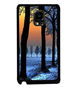 printtech Ice Trees Path Back Case Cover for Samsung Galaxy Note i9220::Samsung Galaxy Note 1 N7000