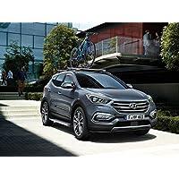 Genuine Hyundai Santa Fe porta laterale cornici–2W271ADE00 - Verniciato Modanature Laterali