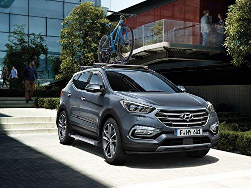 Genuine Hyundai Santa Fe porta laterale cornici-2W271ADE00