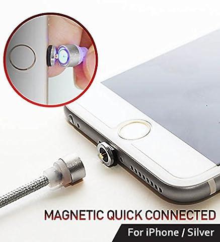 Reddot Magnetic Lightning Ladekabel Kreis Anschluss Nylon