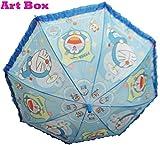 #8: Art box Special Material BOYS/GIRLS DORIMOEIN print UMBRELLA For kids