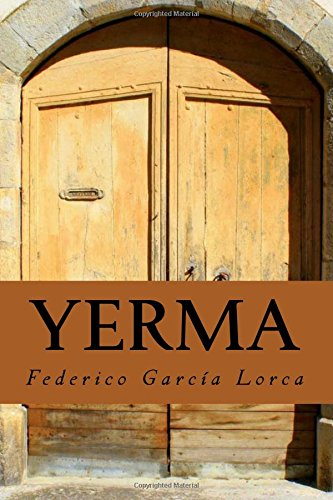 Yerma por Federico García Lorca