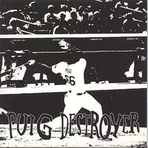 Puig Destroyer - Blue and White split vinyl (Puig Destroyer)