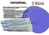 3 stk.Universal Vinyl Kleber Reparaturset für Wasserbett, Pool, Planschbecken,Schwimmbecken (auch unter Wasser anwendbar)