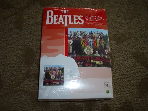 Sgt. Peppers Lonely Hearts Club Band (Re-mastered CD + T-shirt) XL by The Beatles