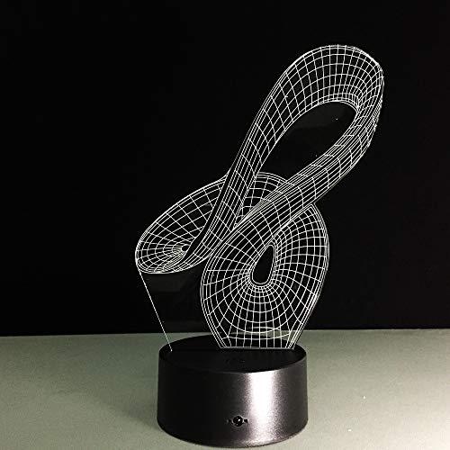Illusion 3D Führte Schreibtischlampen-Kürbis-Abbildung 3D Visuelle Nachtlichter Usb-Port Childlike Schlafzimmer Außerdem Für Kinder-Kind-Neues Jahr-Geschenke