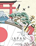 Japan-Malbuch für Erwachsene 1