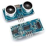 Robo India SR-04 Ultrasonic Ranging Module Hc - Sr04 for Arduino, Raspberry Pi, Avr, 8051, Pic and Other Mcu