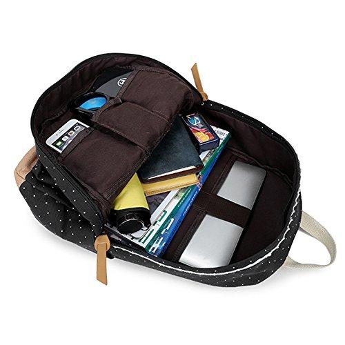 rucks cke f r m dchen marsoul rucksack frauen weinlese stilvolle damen beutel rucksack schwarz. Black Bedroom Furniture Sets. Home Design Ideas