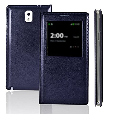 Etui Flip Cover Galaxy Note 3 - Etui luxe Galaxy Note3 III N9000 -