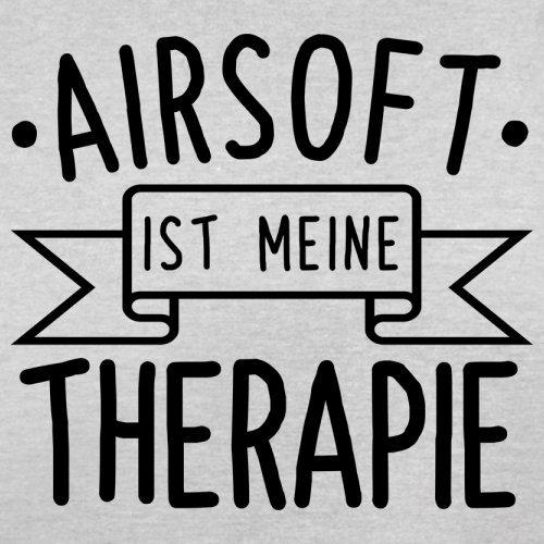 Airsoft ist meine Therapie - Herren T-Shirt - 13 Farben Hellgrau