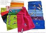 GiO-Shop * Sonderanfertigung mit Stickerei Kinder-Handtuch (Gästetuch) 30x50cm mit Namen & Motiv Bestickt (14 Farben zur Auswahl)