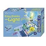 KOSMOS 620530 Easy Elektro - Light. Eerste elektrische circuits. Spelenderwijs de elektriciteit ontdekken. Experimenteerkast voor elektrotechniek.